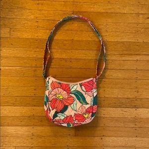 Small Vera Bradley crossbody in Vintage Floral